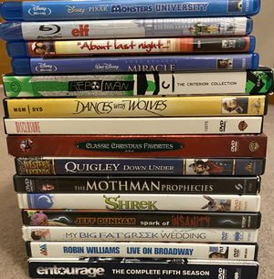 Lot of 15 Various Genre DVDs for Sale in Batavia, IL