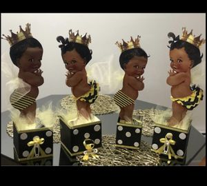 African American Baby Shower / Gender Reveal Centerpieces for Sale in Providence, RI