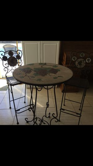 Bistro table and chairs for Sale in Millersville, MD
