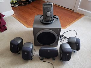 Logitech z680 5.1 surround sound speakers for Sale in Raleigh, NC