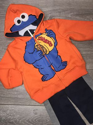 Baby Boy Clothing 🍪 Cookie Monster 24 Months $10 (PP) for Sale in Paramount, CA