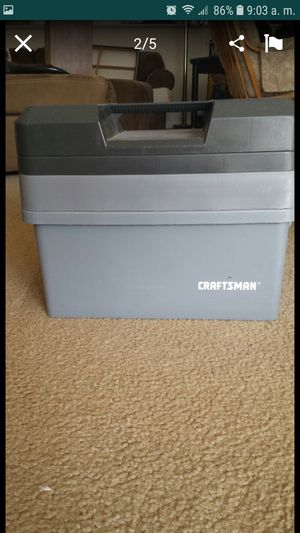 Craftsman tool box.. for Sale in Manassas, VA