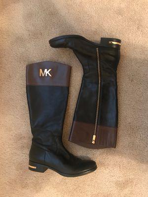 Black and brown Michael Kors boots for Sale in Atlanta, GA