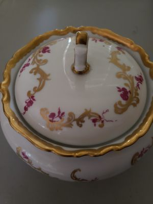 Vintage ANTIQUE GDR covered dish bowl porcelain bone china **MAKE an OFFER** Reichenbach lidded for Sale in Las Vegas, NV