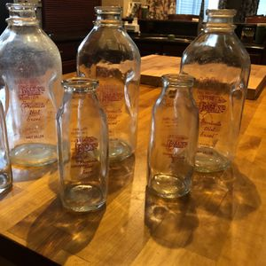 Berwyn Vintage Glass Milk Bottles for Sale in La Grange, IL