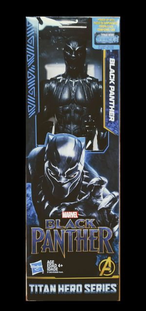 New Black Panther 12 Inch Action Figure. for Sale in Apopka, FL