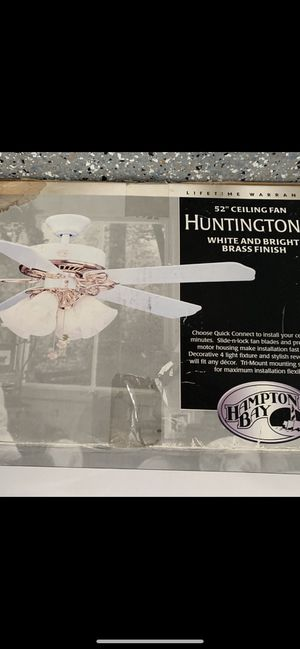 """Brand new ceiling fan 52"""" for sale for Sale in Irvine, CA"""