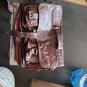 Leather Messenger Bag for Sale in San Diego, CA