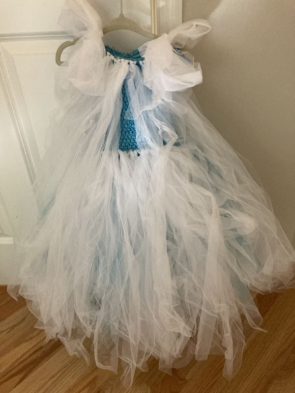Frozen Elsa dress 4-7 yrs