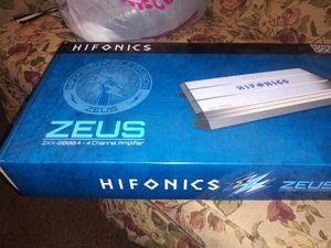 Hifonics zeus 2000 .4 for Sale in Trenton, NJ