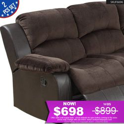 *SALE* Brown Power Sofa + Love seat Set F6696 for Sale in Los Alamitos,  CA