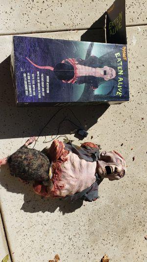 Spirit halloween eaten alive prop for Sale in Sacramento, CA