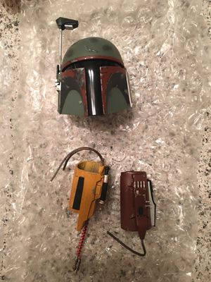 Hot toys boba fett helmet/ gauntlets for Sale in Downey, CA