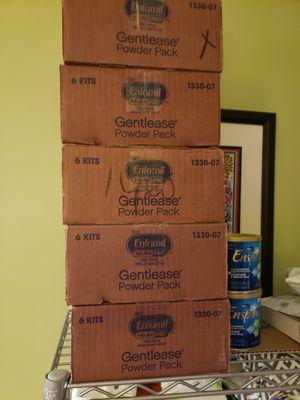 Enfamil gentlease formula 30 cans. 4-liquid for Sale in Gaithersburg, MD