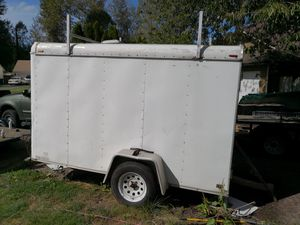 Enclosed 6'x10' cargo trailer for Sale in Kent, WA