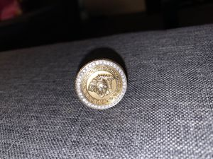 10k vs2Diamonds Versace ring for Sale in North Manchester, IN