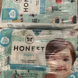 Honest Size 2 Diapers for Sale in Rancho Cucamonga, CA