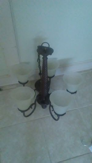 Hanging chandelier for Sale in North Royalton, OH