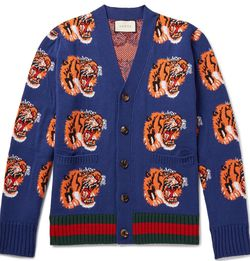 Gucci Lions Knit Cardigan for Sale in Miami,  FL