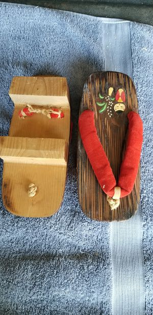 Mini wooden shoes for Sale in Hutchinson, KS