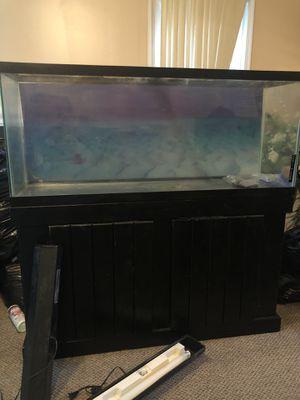 55 gallon fish tank & stand for Sale in Centreville, VA