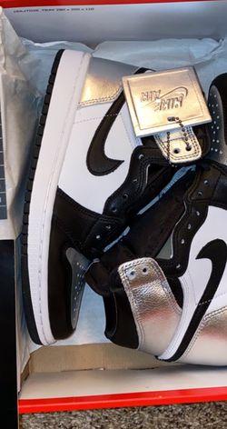 Jordan 1 Retro High Silver Toe (W) size 5.5 for Sale in Albuquerque,  NM