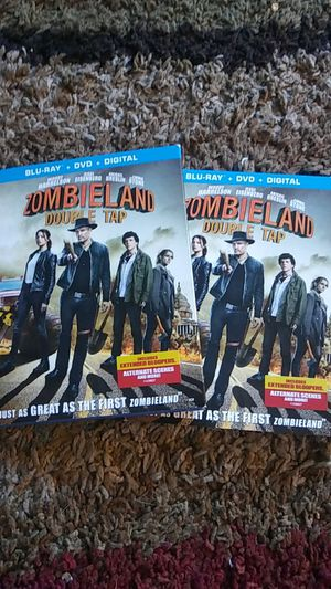 Zombieland double tap blu-rays for Sale in Los Angeles, CA
