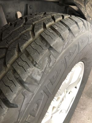 Almost new Iron Man All Country tires! for Sale in Fort Myers, FL