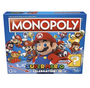 Monopoly Super Mario Celebration Edition Board Game for Ages 8+ for Sale in Sanger, CA