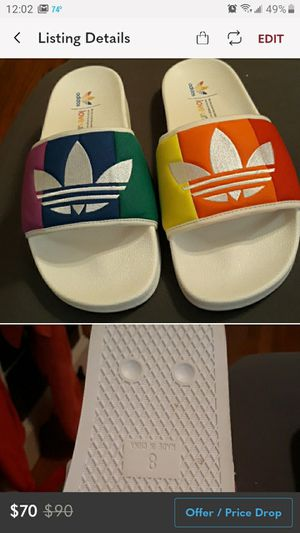 Unisex slides mens size 8/ women's size 9 for Sale in Haverhill, MA