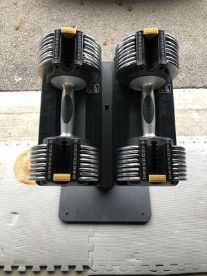 Gold's gym adjustable dumbbells for Sale in Columbus, OH