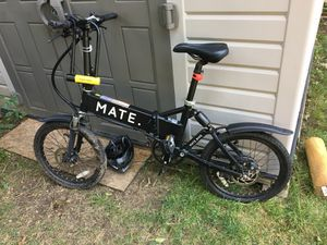 Mate S 350W pedal assist electric bicycle, folding for Sale in Sharon, MA