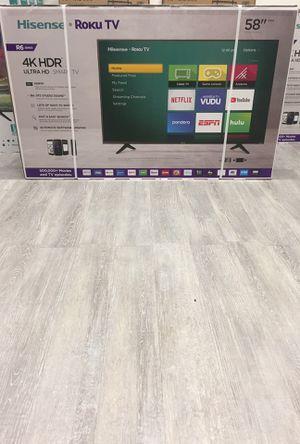 58 INCH HISENSE ROKU 4K SMART TV 📺 for Sale in Chino, CA