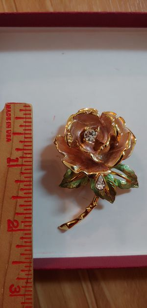 England's rose 1997 brooch for Sale in Austin, TX