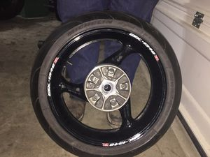 Suzuki Motorcycle Michelin Tire with Rim for Sale in Fort Worth, TX