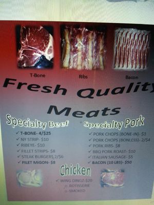 Quality Meats for Sale in S CHESTERFLD, VA