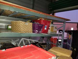 Pallet shelves storage shelves for Sale in Riverside, CA