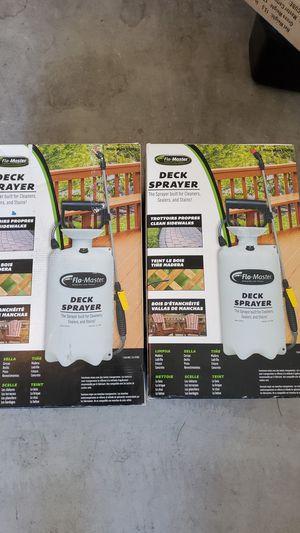 Deck sprayers for Sale in Goodyear, AZ