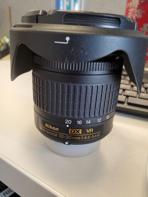 Nikon AFP 10-20 4.5-5.6 G wide angle lense for Sale in Miami, FL