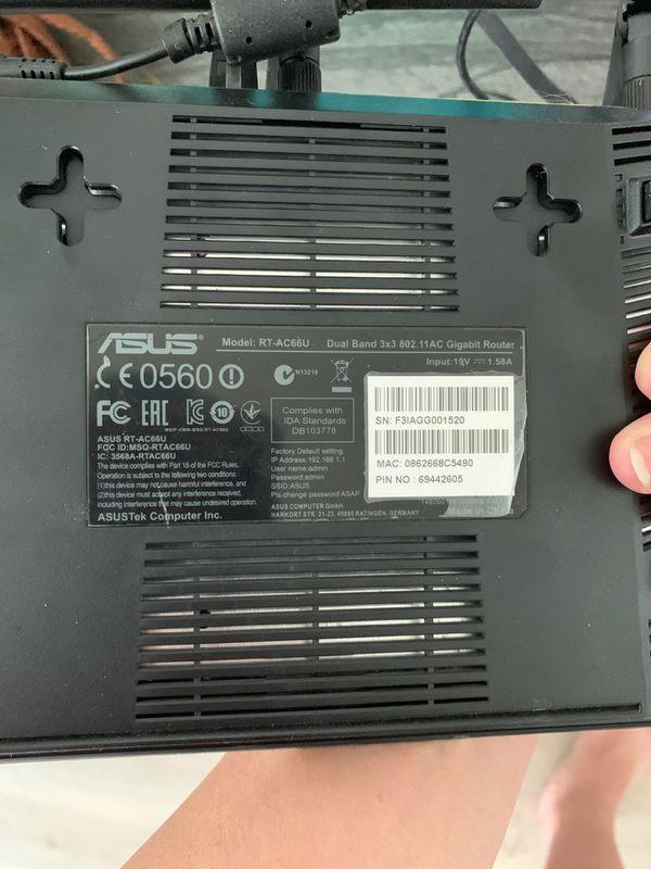 ASUS gigabite wireless router