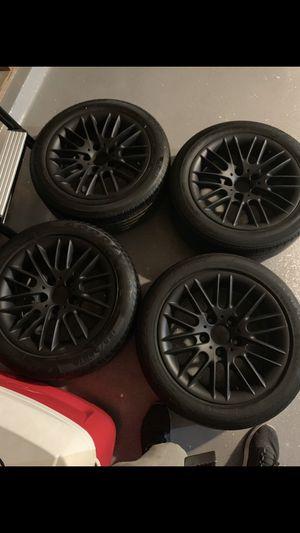 Alloy oem Rims size 16s for bmw 195/55/r16 for Sale in San Bernardino, CA