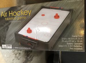 Table top air hockey game for Sale in Miami, FL