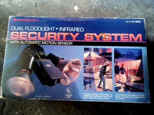 Dual Floodlight Infrared Security System for Sale in Cudahy, CA