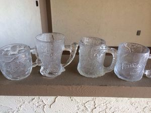 1993 MC Donald's flintstone glass set for Sale in San Diego, CA