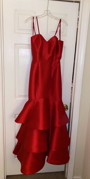 Red Prom Dress originally $450 for Sale in Greensboro, NC