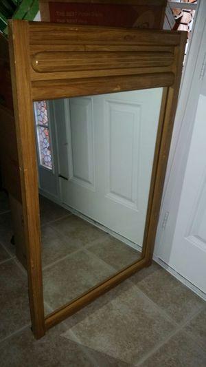 "Solid wood mirror 45 1/2""H x 28 1/2""W for Sale in Sebring, FL"