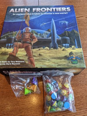 Alien Frontiers Board Game for Sale in Evergreen, CO