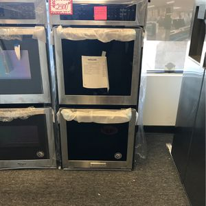 """BRAND NEW KITCHEN-AID 24IN"""" ELECTRIC DOUBLE WALL OVEN MANUFACTURED WARRANTY for Sale in Laurel, MD"""