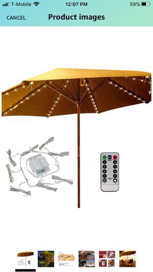 LED copper Wire Patio Umbrella Lights for Sale in Las Vegas, NV