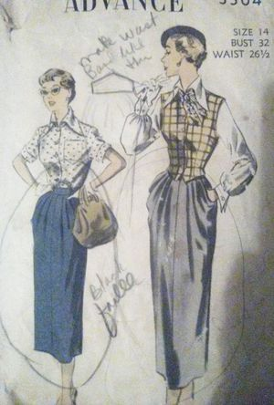 Vintage Advance sewing pattern for Sale in Jackson, MS